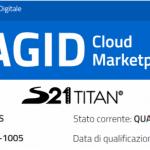 TITAN®: the innovative platform obtains SaaS certification from AgiD